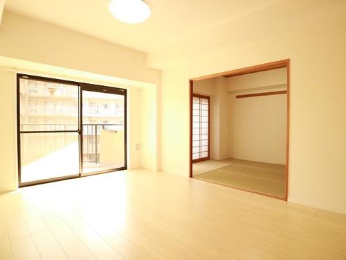 南向き日当たり良好な3LDK~サングレイス矢向~【renovation】の画像