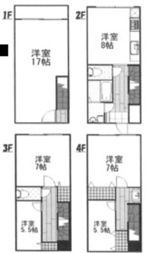 大阪市北区天神橋8丁目 和・terrace 中古戸建の物件画像