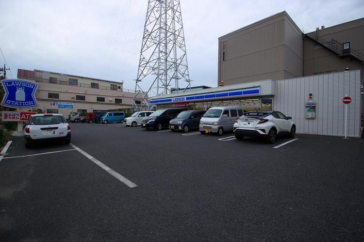 ローソン西一之江店 684m