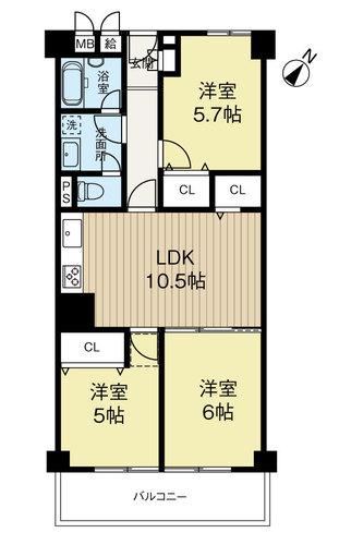 野田パークマンションの画像