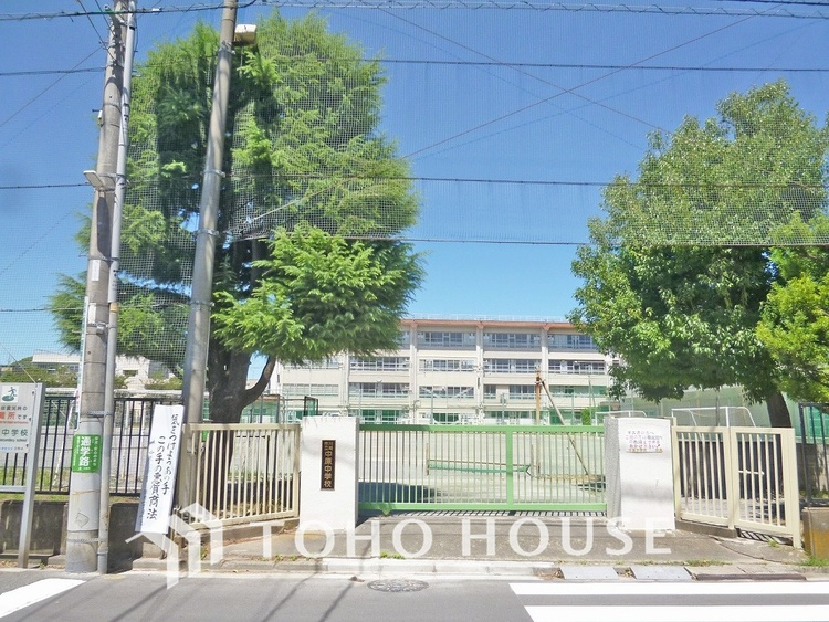 川崎市立中原中学校 距離800m