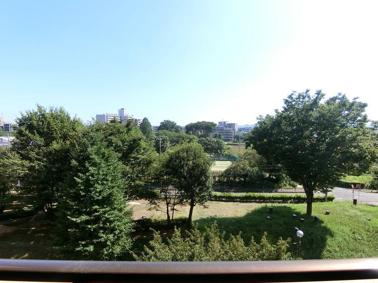 住戸からの眺望です。