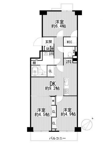 上野毛リッツハウスの物件画像