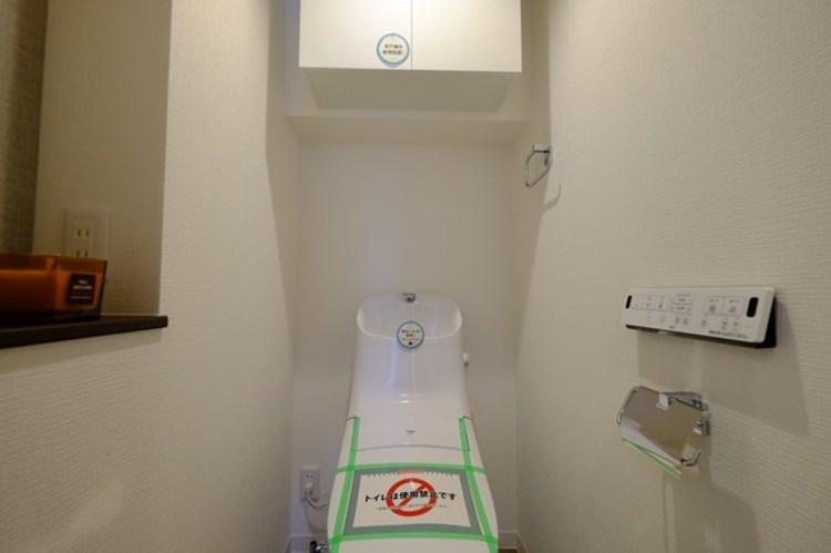 トイレ関係の設備も一新されています。気になる水周り関係が新しくなっていると、気持ちよく新生活が始められますね。