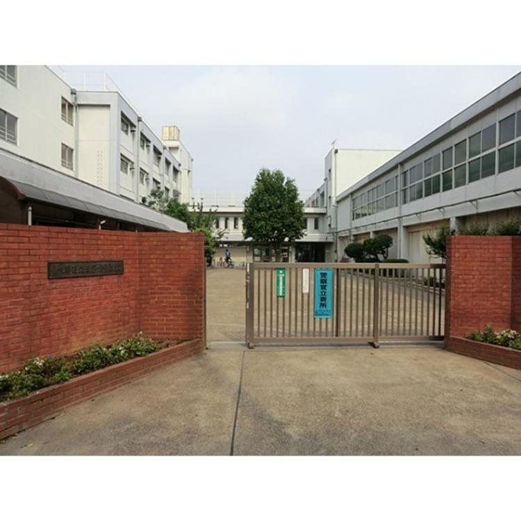 練馬区立三原台中学校(約400m)