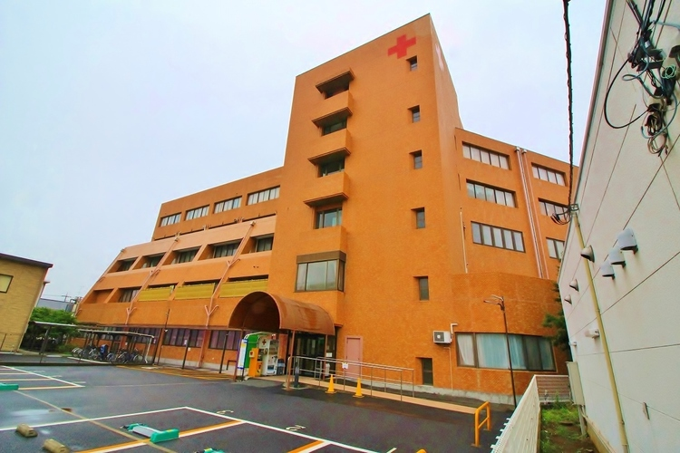 葛飾赤十字病院 :1627m