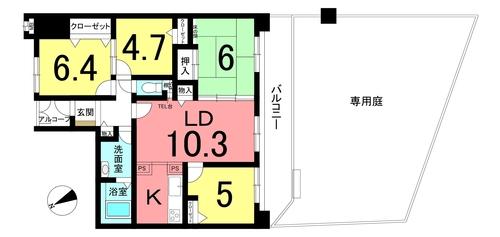 宝マンション太田川の物件画像