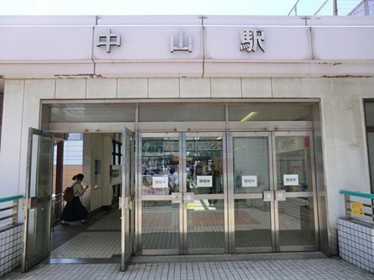 JR中山駅2102m