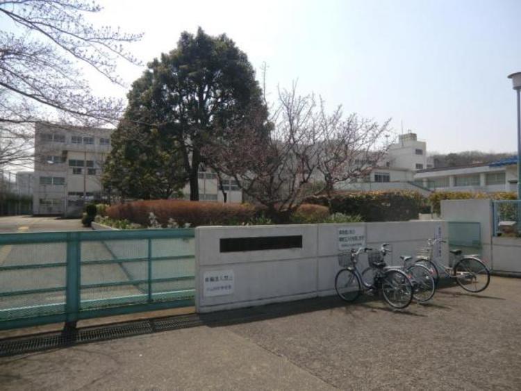小山田中学校まで約719m