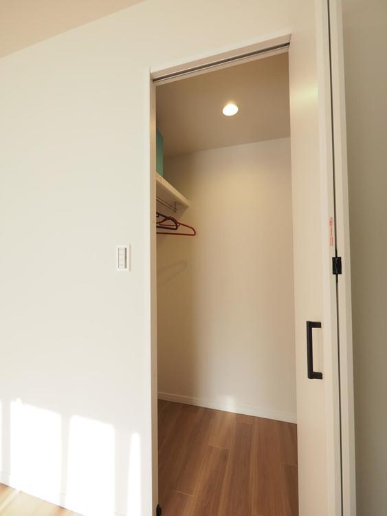 各お部屋に収納はもちろん、どのくらいの収納力があるかは現地でご確認ください!