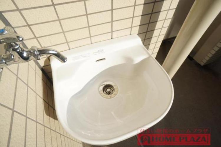 水栓付きなのでお掃除に便利です!