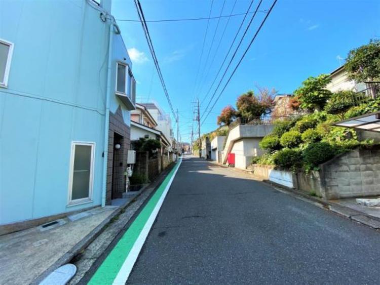 前面道路が広く 周辺は閑静な住宅街です