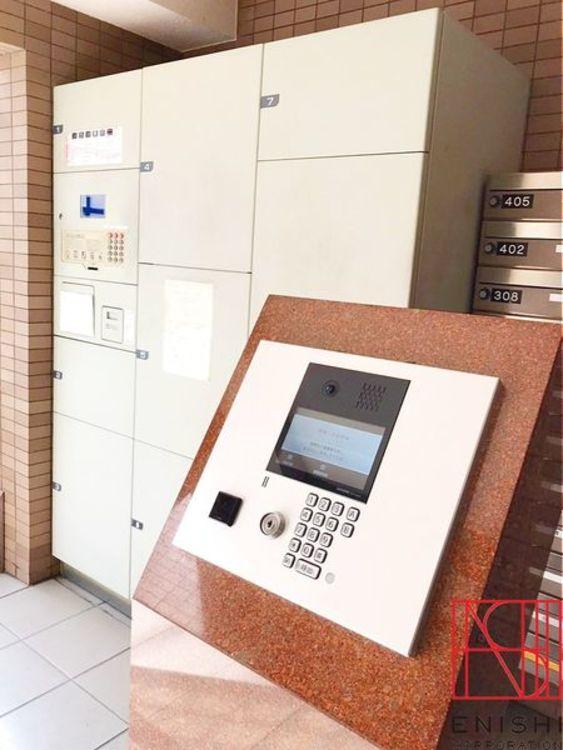 セキュリティー面も安心のオートロック、荷物の受取りに便利な宅配BOX完備。
