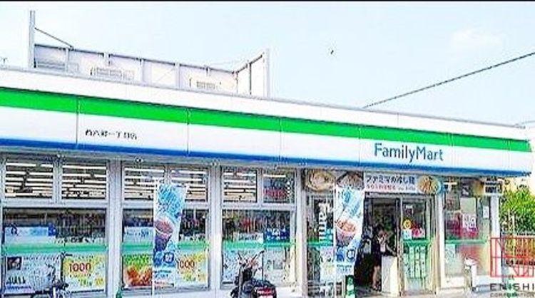 ファミリーマート大田西六郷一丁目店 徒歩5分。 330m