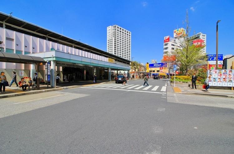 JR総武線 小岩駅:843m