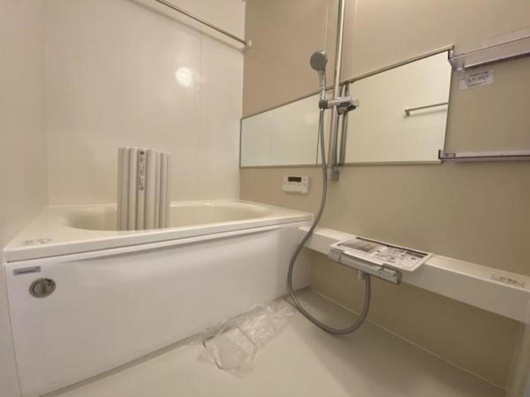 追炊き、浴室乾燥暖房機付で浴室機能の充実バスルーム