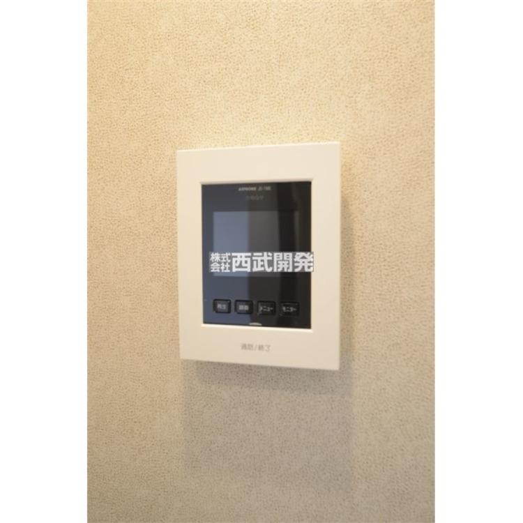 TVモニター付きインターフォンでセキュリティー面にも配慮