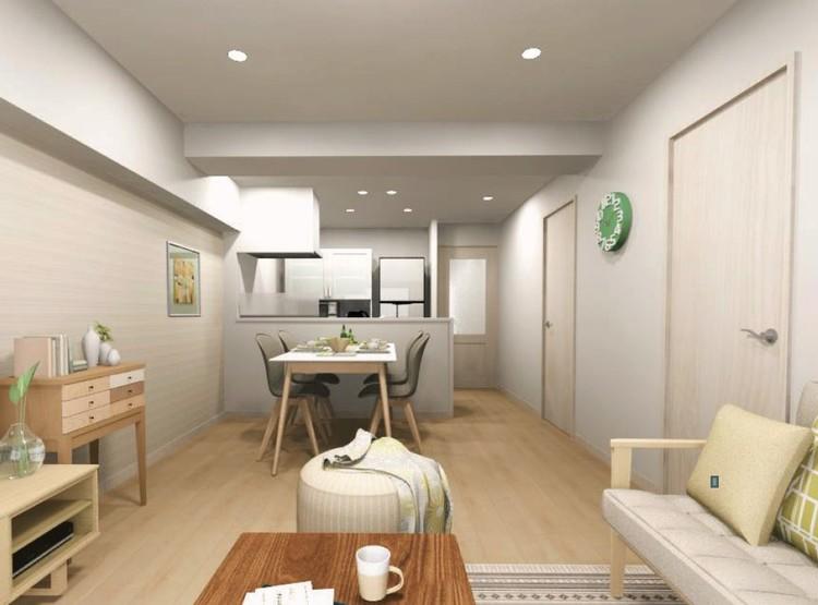 内装工事中もお部屋の見学可能です(完成予定2020年12月上旬)