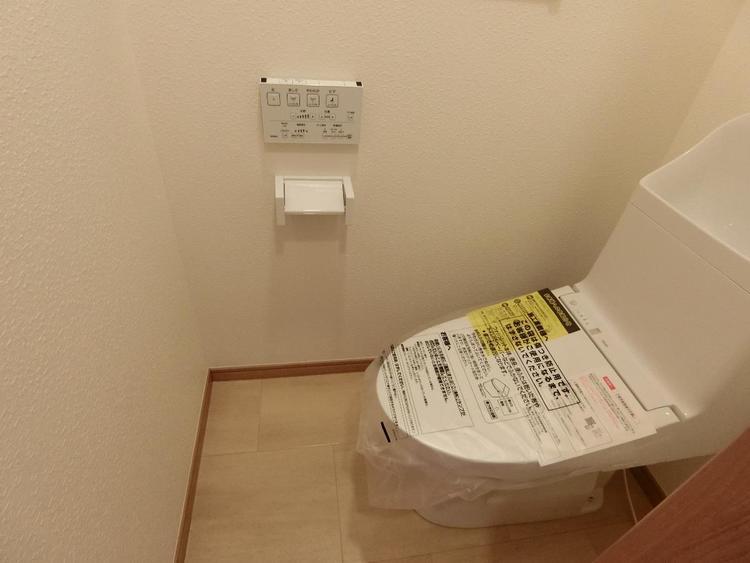 快適な洗浄便座付きのトイレです。