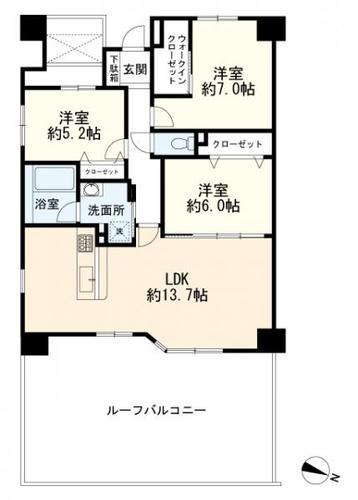 ライオンズヴィアーレ横濱ベイ壱番館の物件画像
