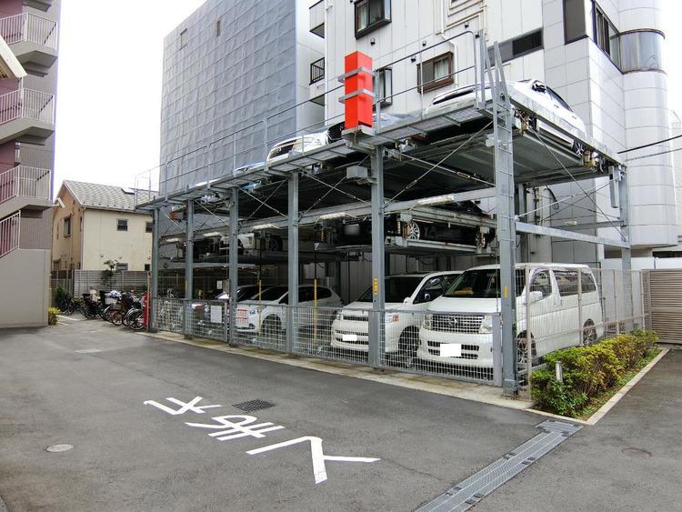 駐車場です。最新の空き状況はご確認ください。