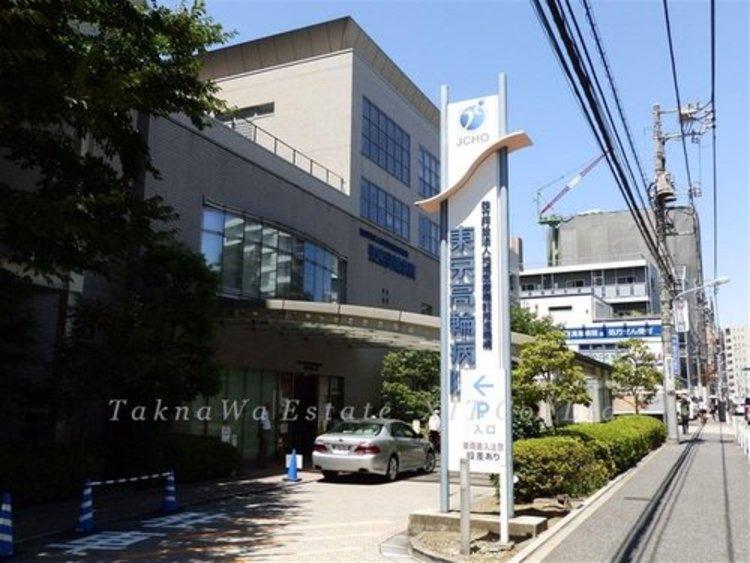 独立行政法人地域医療機能推進機構東京高輪病院まで580m。病院理念 心のこもった医療を安全に提供します。