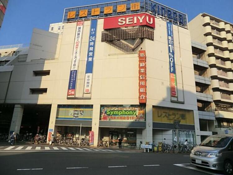 西友大森店 273m