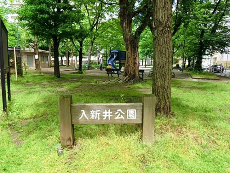 入新井公園 246m