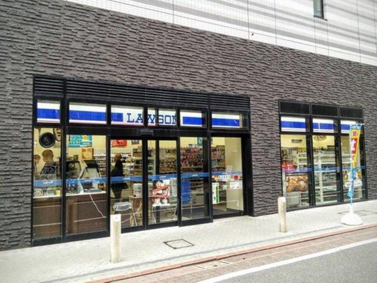"""ローソン西蒲田八丁目店まで75m。マチの健康ステーション。 """"みんなと暮らすマチ""""を幸せに。"""
