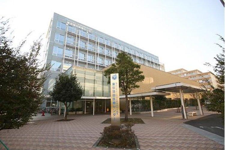 東京蒲田医療センターまで1400m。地域に必要な医療、地域で要望される医療を提供する努力。