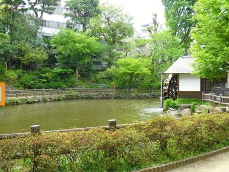 鍋島松濤公園 420m