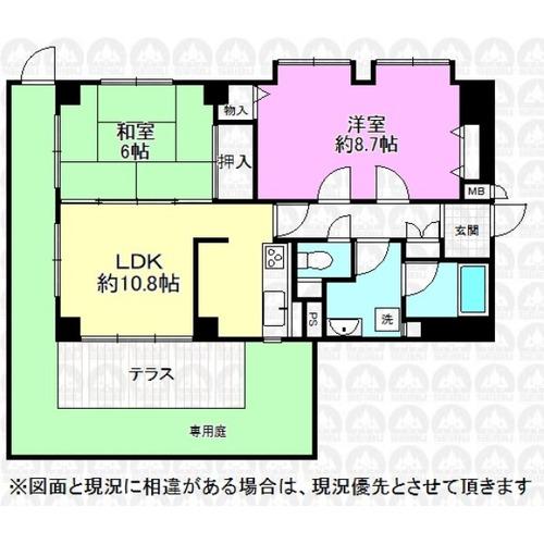 サンライズマンション中神の画像