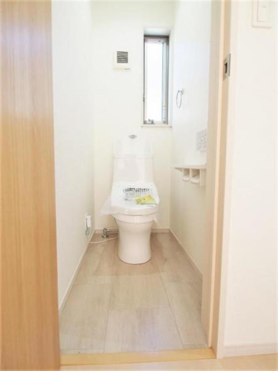トイレは2ヶ所あります。シャワートイレです。
