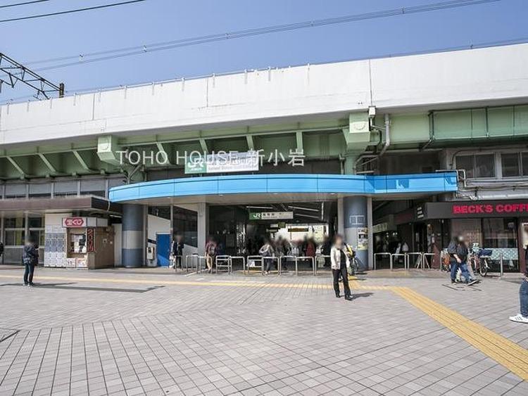 常磐線「亀有」駅 1040m