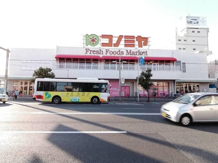 コノミヤ 堺東店 徒歩 約13分(約1000m)