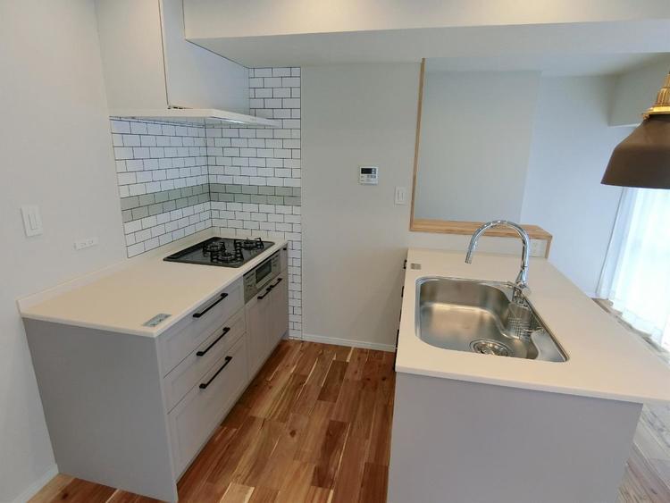 キッチンは作業スペースも広く、お料理も楽しく出来そうですね。