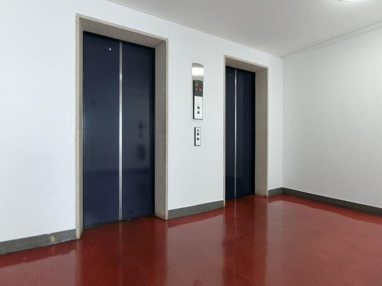 エレベーター完備でお部屋までの移動も楽々です。