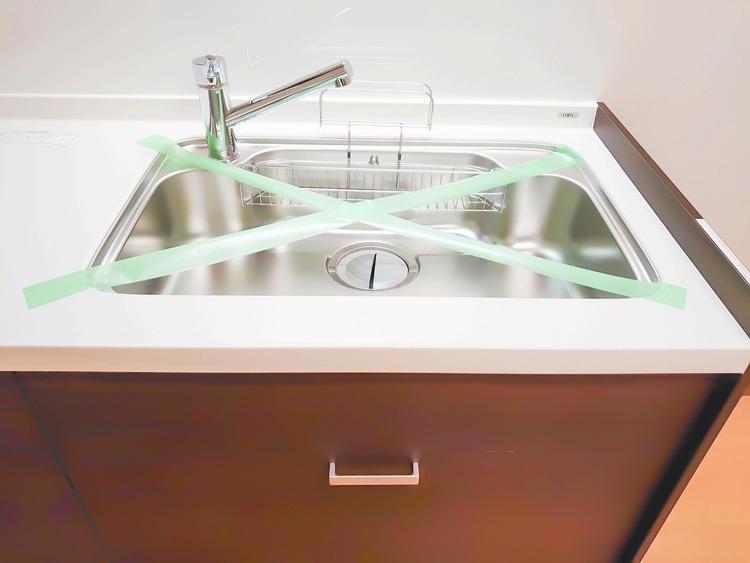 水回りは食器を洗えるスペースが十分に確保されています。