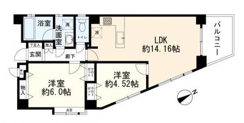 モナークマンション武蔵小杉IIプラチナコートの物件画像
