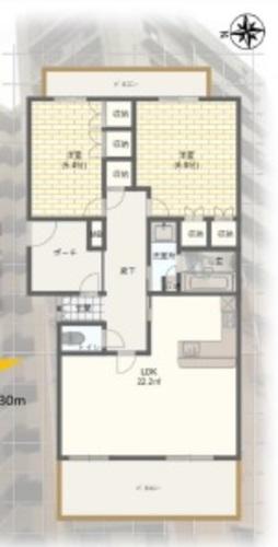多摩市落合 D´グラフォート多摩センター煉瓦坂の画像