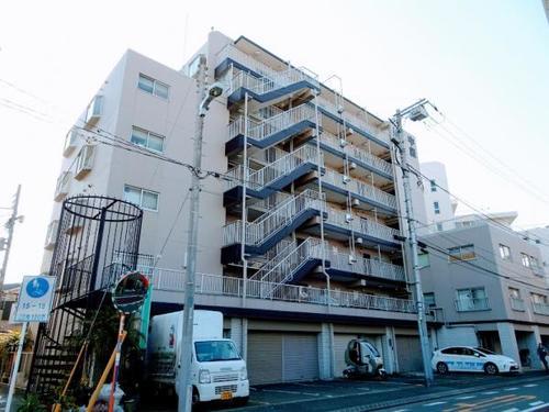 【安心を買うなら、朝日土地建物へ】中銀横浜大口マンシオンの画像