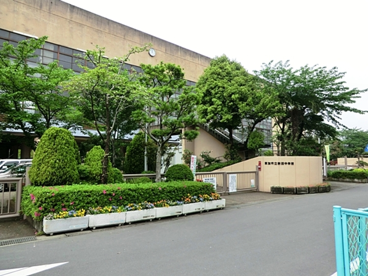 新田中学校 徒歩24分(約1920m)