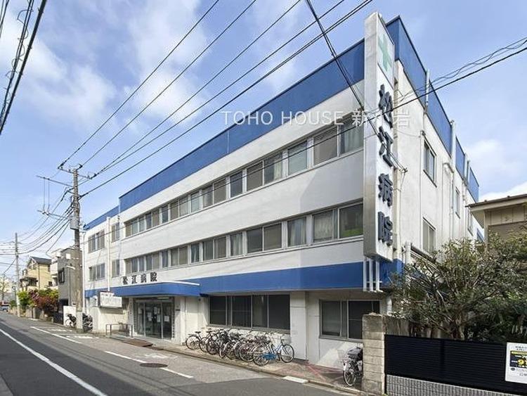 松江病院:800m
