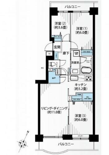 パークシティ金沢八景E棟の物件画像