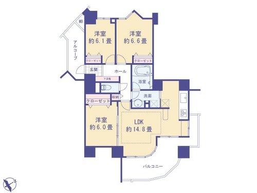 レクセルマンション西国分寺の画像