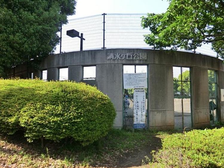 清水ケ丘公園 約700m
