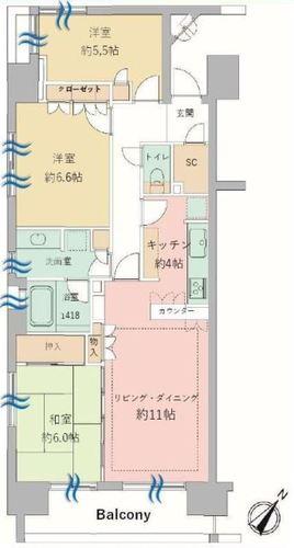パークホームズ隅田桜橋の物件画像