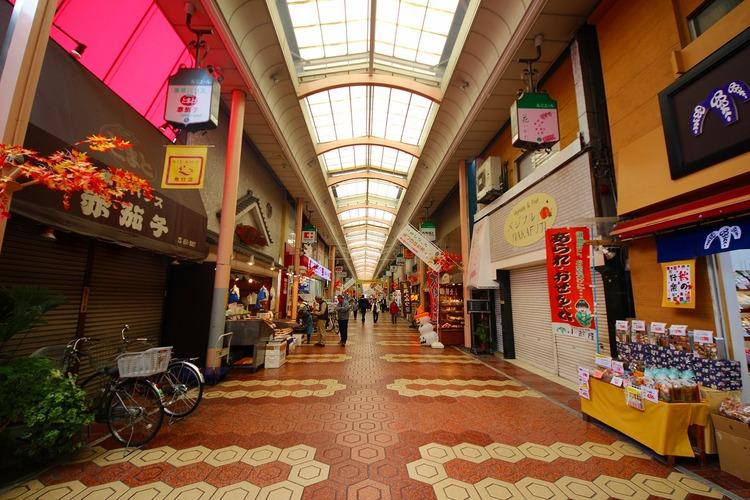 新小岩ルミエール商店街:339m
