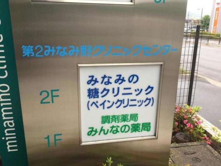 みなみの糖クリニック 320m