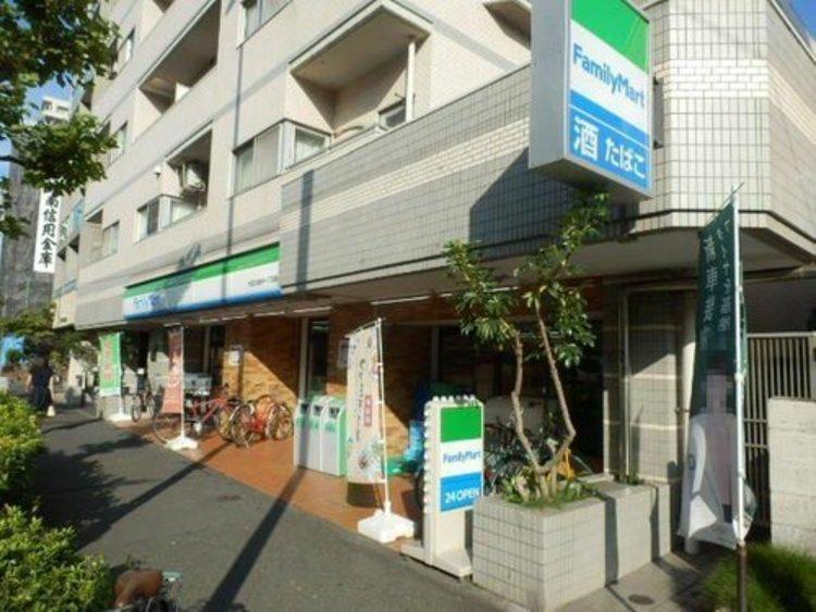 ファミリーマート大田大森中一丁目店まで150m。「あなたと、コンビに、ファミリーマート」 「来るたびに楽しい発見があって、新鮮さにあふれたコンビニ」を目指してます。